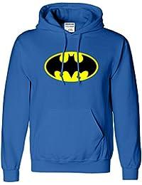 Batman Hommes Femmes Femmes Garçons Filles unisexe Sweat à capuche Pull capuche Pocket Hoodie Sweat Funsport XS SML XL Beaucoup de couleurs et tailles disponibles