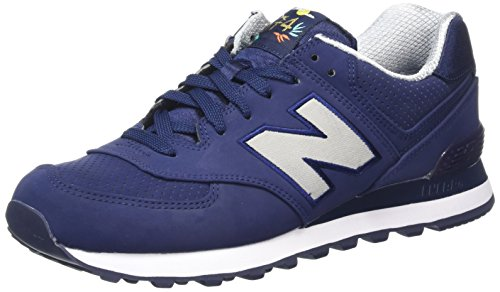 New Balance 574, Sneaker Uomo Multicolore (Tempest)