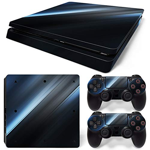 Mcbazel Pattern Series Vinyl Sticker pelle per PS4 Slim Controller & Console Proteggi Cover Decal Skin (Light)