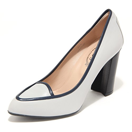 8024L decollete donna TOD'S gomma scarpe shoes women Grigio