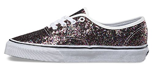 Vans Authentic, Sneakers Basses Mixte adulte (Chunky Glitter) True White