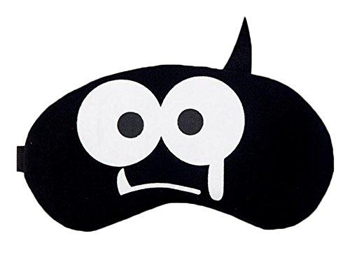 Black Lovely masque de sommeil Dormir Cover Masques pour les yeux