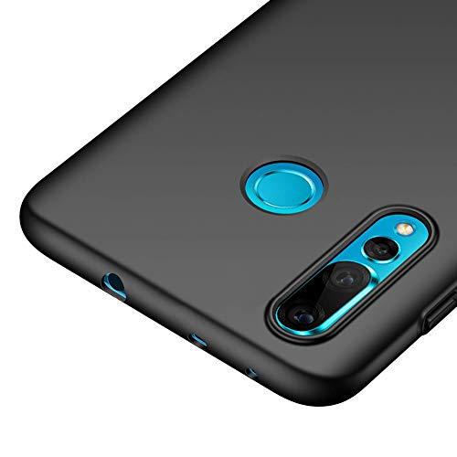 Richgle Huawei nova 4 Hülle, Schwarz Sehr Dünn Schutz Hülle Handyhülle Harte Schutzhülle Case für Huawei nova 4 RG00336