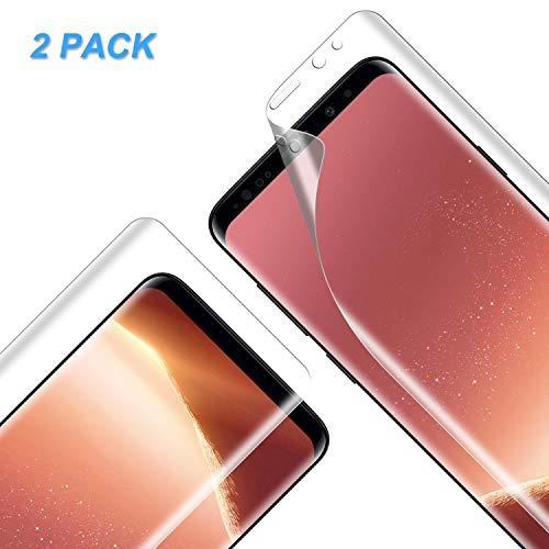Vkaiy [2 Pezzi Pellicola Protettiva per Samsung Galaxy S9, Galaxy S9 HD Trasparente Morbido TPU Pellicola [Compatibile con la Custodia][Installazione Facile] [Senza Bolle]