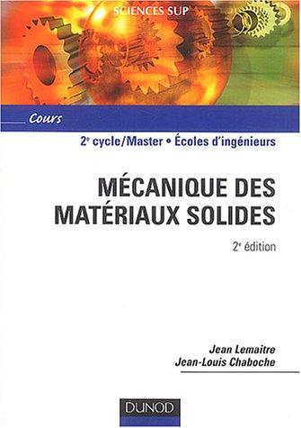 Mécanique des matériaux solides