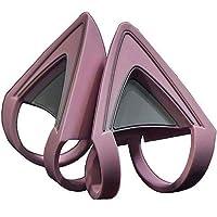 Razer Kitty Ears for Kraken Headsets: Compatible with Kraken 2019, Kraken TE Headsets - Adjustable Strraps - Water Resistant Construction - Quartz Pink