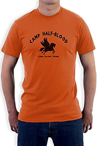 Camp Half-Blood T-Shirt, Orange,