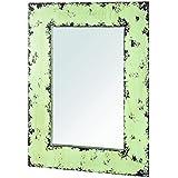 HAKU Möbel 27988 espejo de pared, 2 x 50 x 70 cm, vintage