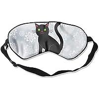 Black Cat 99% Eyeshade Blinders Sleeping Eye Patch Eye Mask Blindfold For Travel Insomnia Meditation preisvergleich bei billige-tabletten.eu