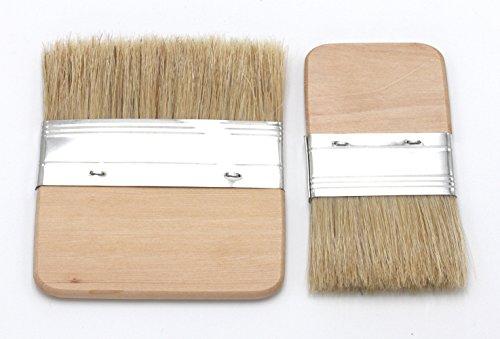 Paddle Flächenpinsel, Grundierpinsel, Flachpinsel (Set 60 + 100 mm)