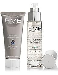 EVE REBIRTH Kit : Crème Régénérante pour Mains Oxygène, 100 ml + Traitement Energisant pour Cheveux, 50 ml
