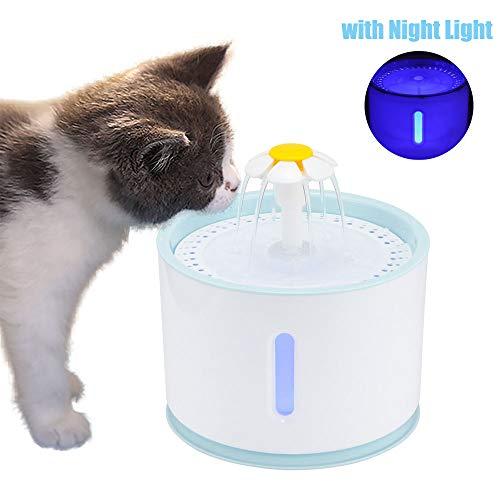 OurLeeme Fuente de Agua para Mascotas