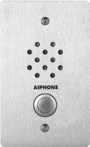Aiphone LE-SS-1G Vandal-and Weather-Resistant Single-Gang Door Station for Use with AX, LAF/LDF-C, LEM, LEF, MP-S Series Intercom Systems by Aiphone Aiphone Intercom