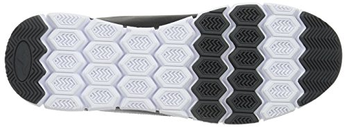 KangaROOS K-BlueRun 700 V B, Sneaker Basse Unisex - Adulto Nero (Schwarz (black/dk grey 522))