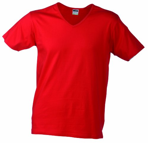 2ea6a0c9e258d JAMES   NICHOLSON T- Shirt Slim Fit V-Neck