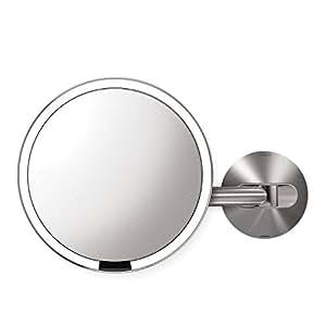 Simplehuman ST3002 - Specchio di montaggio a parete con sensore
