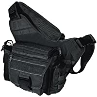 UTG Taktische Tasche UTG Multi Functional Tactical Messenger Bag - Funda de arco, color negro