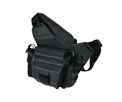 UTG TAKTISCHE TASCHE UTG MULTI FUNCTIONAL TACTICAL MESSENGER BAG - FUNDA DE ARCO  COLOR NEGRO