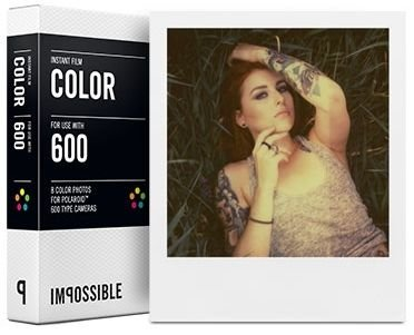 Impossible Color Film für POLAROID 600 / IMPULSE / ONE SOFORTBILDFILM (Impulse Film Polaroid)