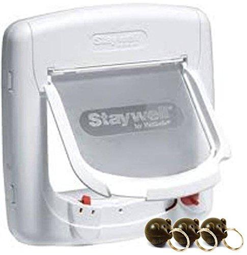 PetSafe Staywell 400-Magnetische Katzenklappe mit 3x 980...