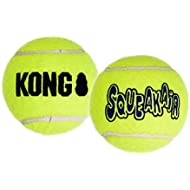 KONG - Squeakair Balls - Pack of 6 Medium Balls