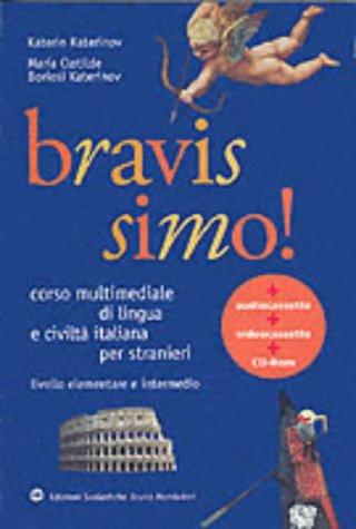 Italien Bravissimo ! Corso multimediale di lingua e civilta italiana per stranieri par Katerinov