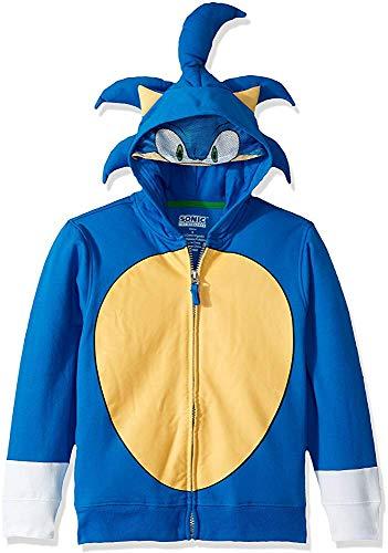 Sweet grape Sega Children Sonic Hedgehog Costume Hoodie - Kid Sonic Kostüm