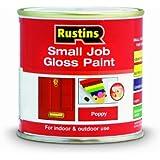 Rustins GPPO250 250ml Small Job Poppy