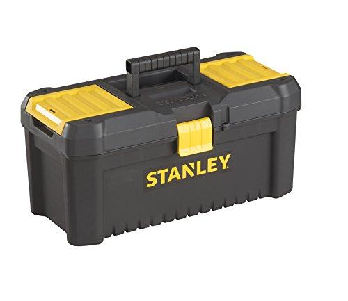 Stanley Kunststoff-Werkzeugbox/kasten, 12,5″, mit Kunststoffschliessen und Organizern, entnehmbare Trage, STST1-75514 - 2