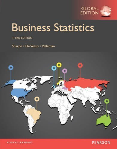 Business Statistics, Global Edition by Norean R. Sharpe (2014-09-17)