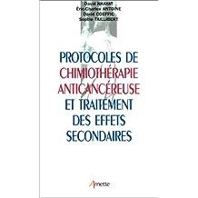 Protocoles de chimiothérapie anticancéreuse et traitement des effets secondaires