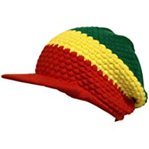 aa2c56041e69e CRAZY LIZARD Rasta Reggae Gorro para 3 Stripes