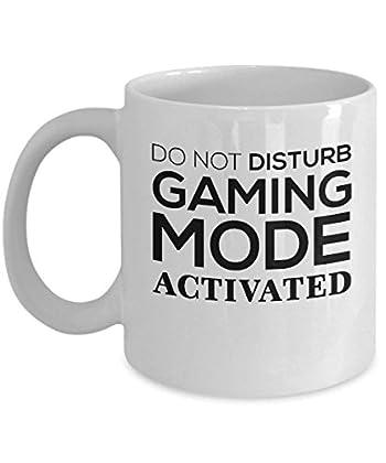 Gamer Gifts Coffee Mug - Do Not Disturb Gaming ...
