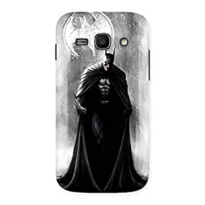 Stylish White Moon Knight Multicolor Back Case Cover for Galaxy Ace 3