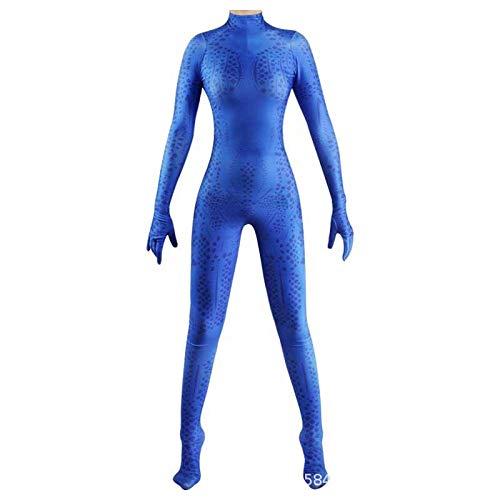 CHXY X-Men Kind Erwachsener Kostüm Superhelden Cosplay Verkleidung Dress,Halloween Mottoparty Strumpfhosen 3D Drucken Onesies Karneval - X Men Kostüm Kinder