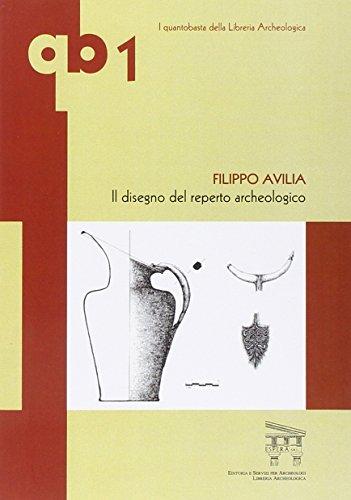 Il disegno del reperto archeologico por Filippo Avilia