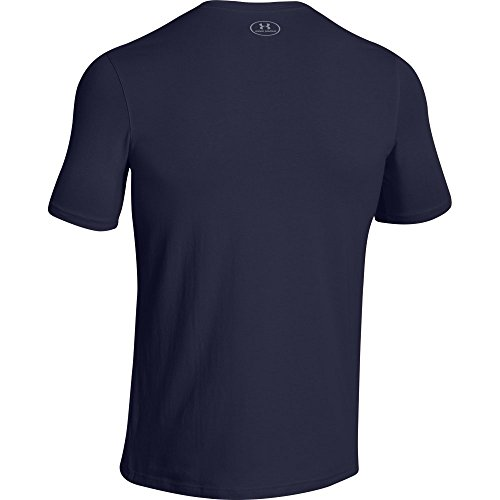Under Armour Herren Fitness Cc Left Chest Lockup Kurzarm T-Shirt Midnight Navy
