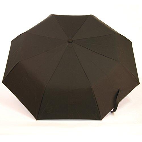 Sunsan double layer Blauer Himmel und weiße Fallschirm wasserdicht Sonnenschirm, UV-Licht Dach falten creative Regenschirm, schwarz (Weiße Dach-lichter)