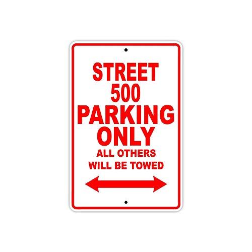 Eugene49Mor Harley David Street 500 Parking Only All Other Will Be Towed Motorrad Bike Neuheit Garage Aluminium 20,3 x 30,5 cm Schild - Bay Deckenventilator