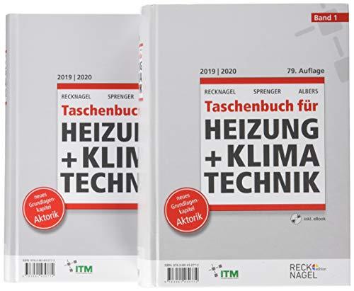 Recknagel - Taschenbuch für Heizung und Klimatechnik 79. Ausgabe 2019/2020 - Premiumversion: Buch + PDF-eBook auf CD-ROM