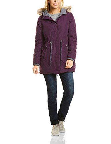 CECIL Damen Parka 100190 Violett (Dark Berry 10970), X-Large