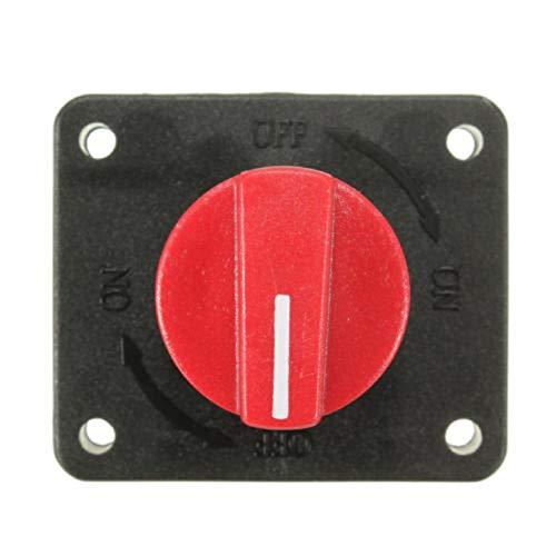 Maso 12/V//24/V interruttore stacca batteria Cut off Disconnect terminale per auto Van Truck Automotive barca.
