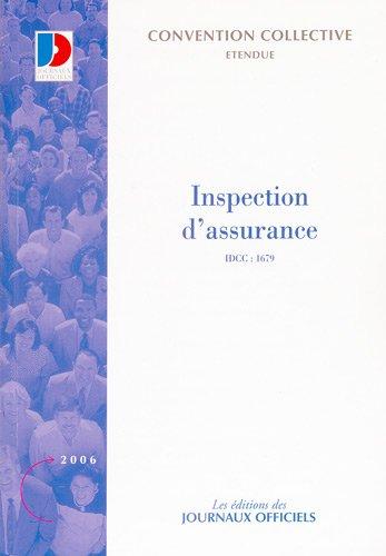 Inspection d'assurance - IDCC:1679 3e édition - octobre 2005