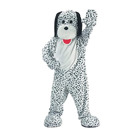 Dress Up America 299-XL Attraktives Dalmatiner-Maskottchen-Kostüm, X-Large (Dalmatiner-kostüm Für Kleinkind)