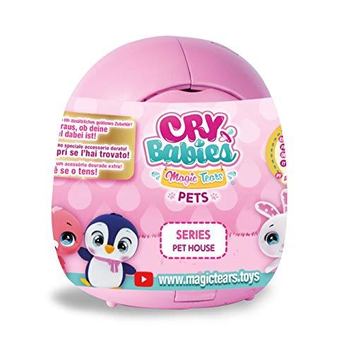 IMC Toys - Cry Babies Magic Tears Casetta Cuccioli, 91085