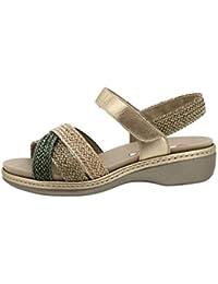 Zapato Cómodo Mujer Sandalia Plantilla Extraíble 180809 PieSanto