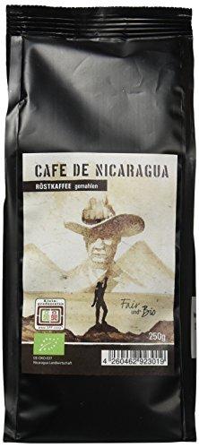 Chavalo Cafe de Nicaragua gemahlen Bio Kaffee, 3er Pack (3 x 250 g)
