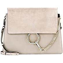 c7063ff2fd8b4 ACTLURE Women Genuine Leather Crossbody Shoulder Purse Chain Link FY Bag