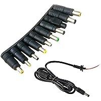 Onite 28 pezzi Universal Power 5.5x2.1mm al 28 connettore della scheda di alimentazione DC set adatto per laptop (10+1)