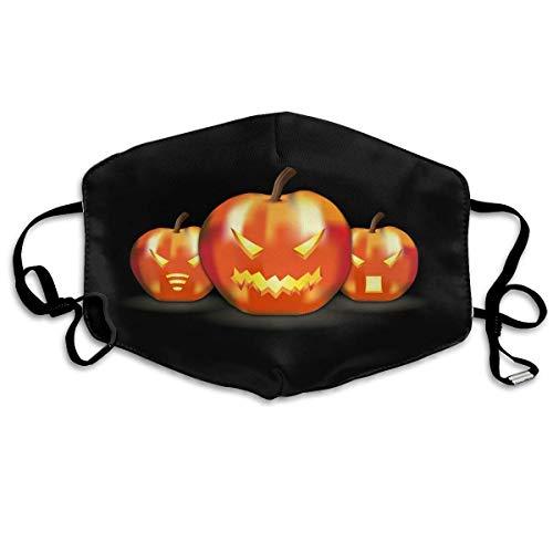 Daawqee Staubschutzmasken, Anti Dust Face Mouth Cover Mask Halloween Artwork Anti Pollution Breath Healthy ()